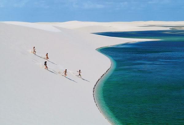 Praia Lençois Maranhenses